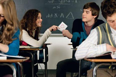 Zakochane nastolatki