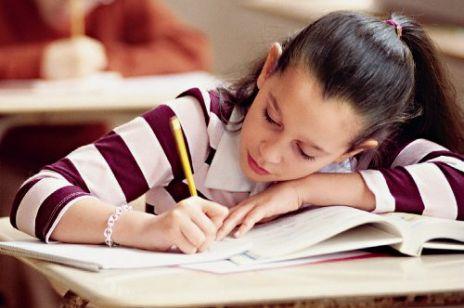 Pierwszy trudny egzamin w szkole