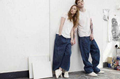 Jeansy pod prąd