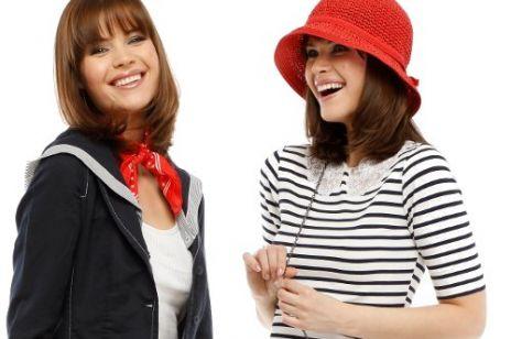 Marynarski styl w modzie
