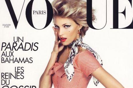 Anja Rubik na okładce francuskiego Vogue