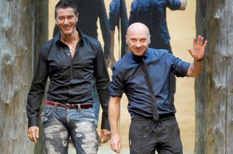 Domenico Dolce & Stefano Gabbana - chłopcy z kalendarza
