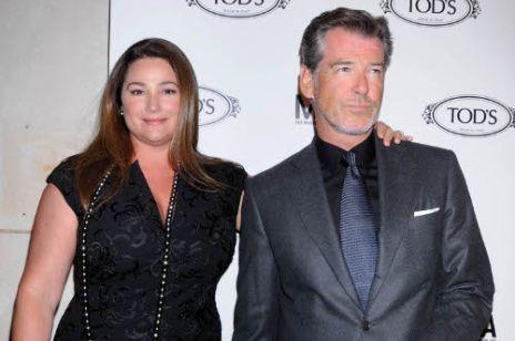 Pierce Brosnan & Keely Shaye Smith- szczęśliwi na przekór Hollywood