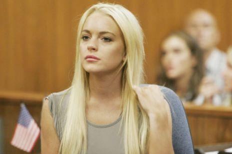 Lindsay Lohan - zdąży na wyprzedaże?