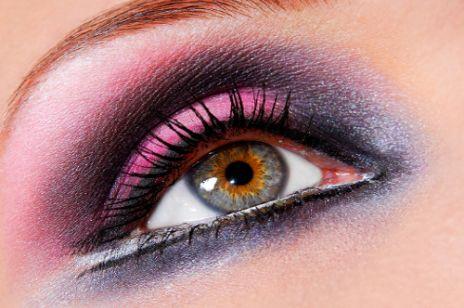 Makijaż oczu: oko rajskiego ptaka