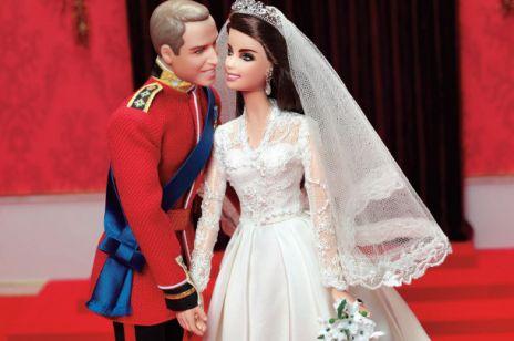 Księżna Kate i Książę William jako lalki