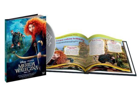 Merida Waleczna na DVD i Blu-ray