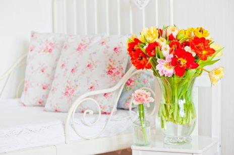 Kwiaty we wnętrzach
