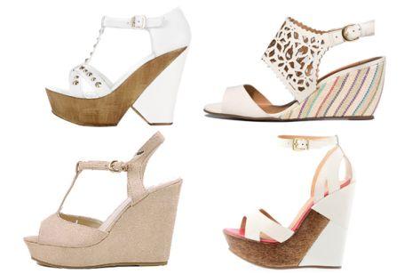 Co nowego w butach ślubnych - koturny