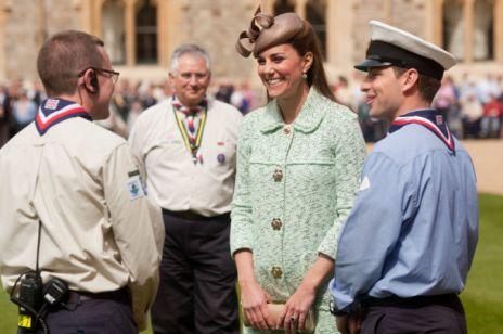 Ciążowe stroje Kate Middleton