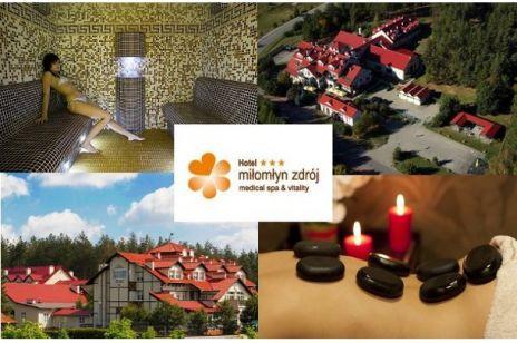 Konkurs - Aktywny wypoczynek w hotelu Miłomłyn Zdrój Medical SPA & Vitality