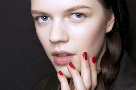 Czerwone paznokcie