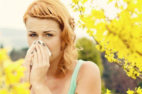 Wiosenne alergie