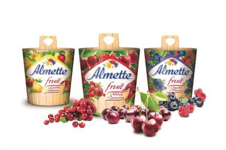 Owocowe smaki serków Almette