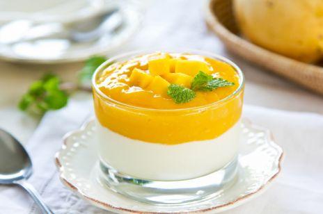 Jogurtowy deser z mango