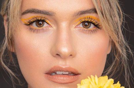 Kolorowy eyeliner: największy trend makijażowy tego lata