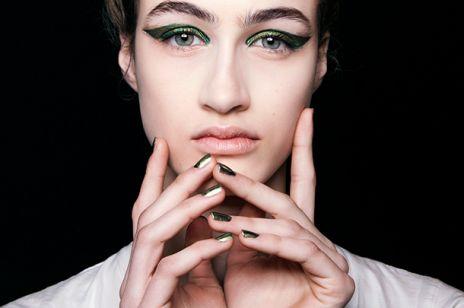 Manicure na sylwestra