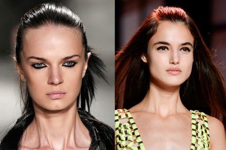 Makijaż sylwestrowy- czarne kreski