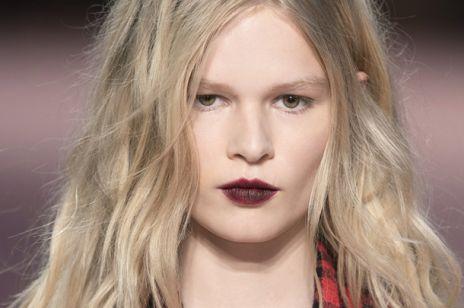 Makijaż sylwestrowy - mocne usta