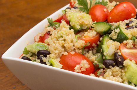 Bez glutenu - sałatka z komosą ryżową