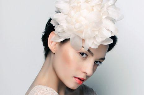 Kwiaty we włosach...