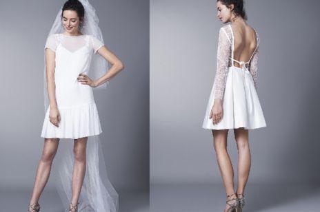 Trend 2016 - krótkie suknie ślubne