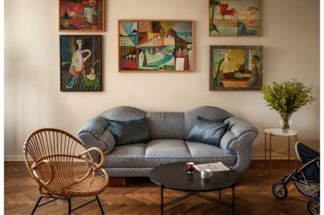 RODZINNY apartament na Saskiej Kępie