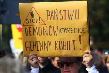 Czarny protest KOBIET W POLSCE