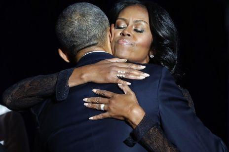 Wzruszające słowa prezydenta Obamy o żonie Michelle