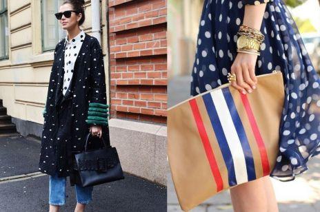 Trend moda wiosna lato 2017: groszki