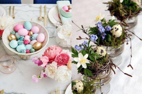 Wielkanoc 2017: nietypowe dekoracje stołu