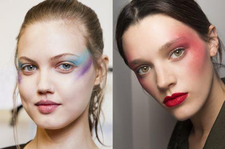 Trend uroda wiosna lato 2017: lata 80. w makijażu