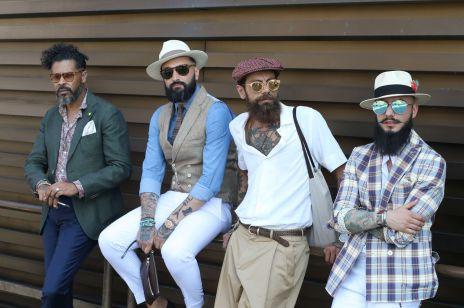Jak powinien wyglądać modny mężczyzna? Mamy zdjęcia z targów mody Pitti Uomo!