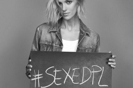 """Anja Rubik o seksie w ramach #SEXEDPL:  """"cielesność to nie temat polityczny ani religijny!"""""""