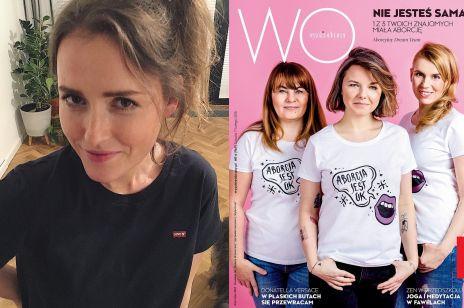 Olga Frycz ostro skrytykowana przez feministki za SZCZERE słowa o aborcji