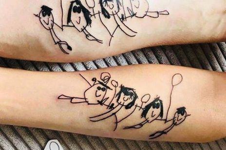 Tatuaże dla RODZICÓW: te trendy są urocze!