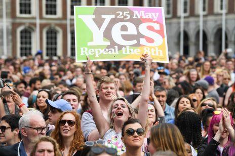 Irlandia za aborcją: wyniki referendum za liberalizacją aborcji
