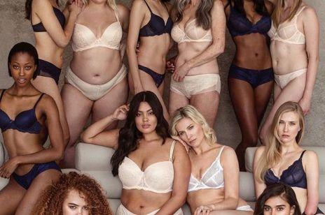 Dojrzałe, plus size, z niepełnosprawnością - niezwykłe modelki w kampanii bielizny