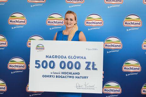 Wielki finał Loterii Hochland: 500 000 zł trafiło do rąk zwyciężczyni!