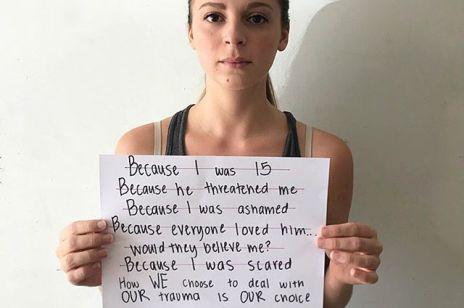 #whyididntreport - pod tym hasztagiem kobiety mają odwagę mówić o swoich traumach