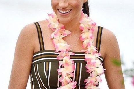 Meghan Markle kwitnie w ciąży: księżna Sussex zachwyca w Australii
