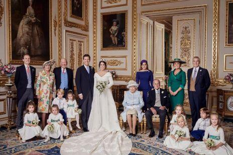 Oficjalne zdjęcia księżniczki Eugenii z mężem: mały książę George robi furorę!