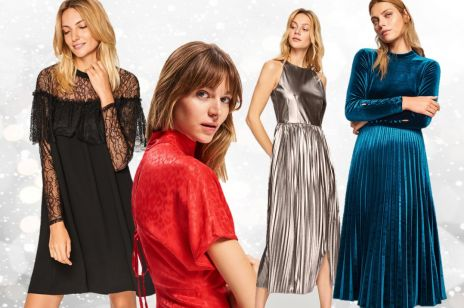 Najmodniejsze sukienki na święta 2018