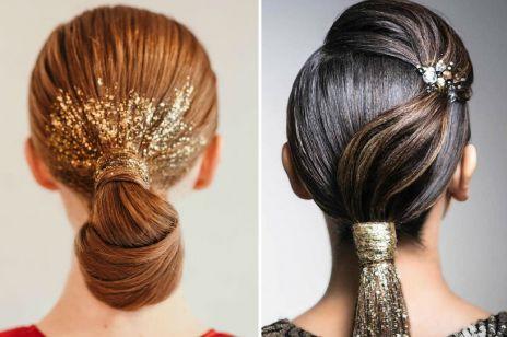Glitter hair – brokat we włosach będzie hitem Sylwestra!
