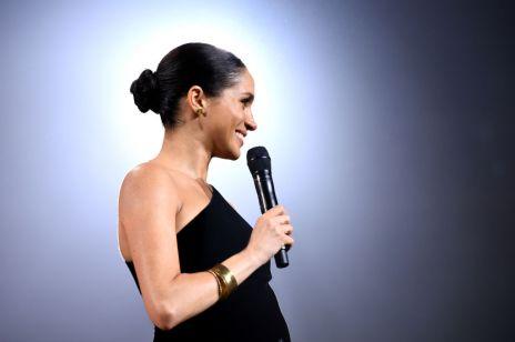 Meghan Markle w ciąży na gali British Fashion Awards - o tej kreacji mówi cały świat