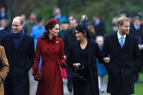Meghan Markle i Kate Middleton razem na świątecznej mszy: pogodziły się?