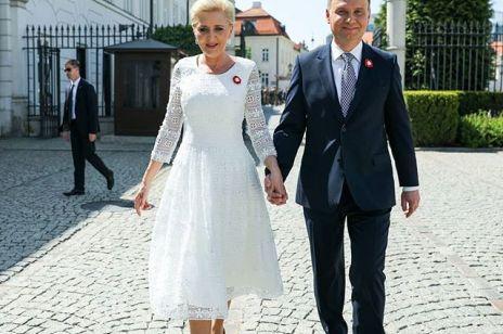 Sukienka Agaty Dudy dla WOŚP sprzedana: ta kwota robi wrażenie