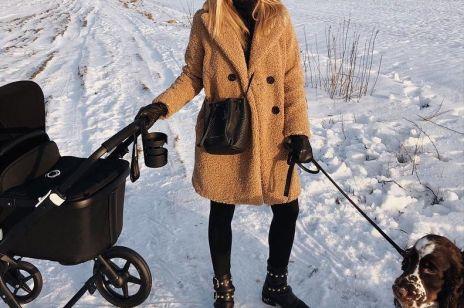 Kasia Tusk na pierwszym spacerze z dzieckiem: cena wózka robi wrażenie