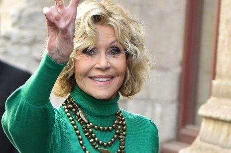 """Jane Fonda o swojej walce z rakiem piersi: """"pod suknią musiałam ukrywać bandaże"""""""