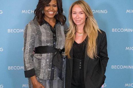 """Joanna Przetakiewicz spotkała się z Michelle Obamą: """"Nie raz ktoś będzie Ci próbował podciąć skrzydła"""""""